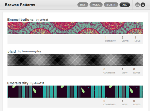 Colour-Lovers-Patterns-Collection