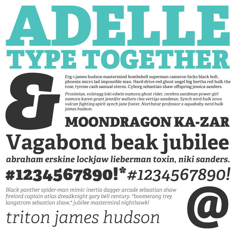 TypeTogether-Adelle