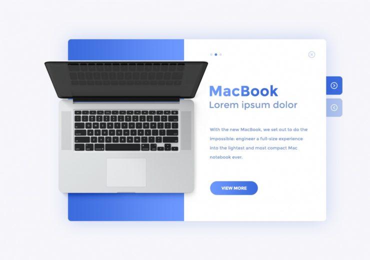 Projektowanie stron internetowych - mac showcase 740x520